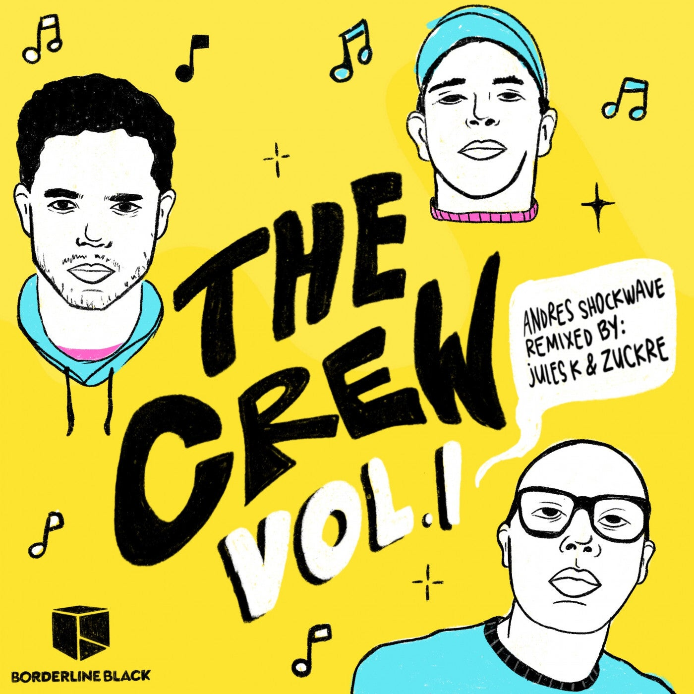 Andres Shockwave - The Crew Vol.1 (2021)
