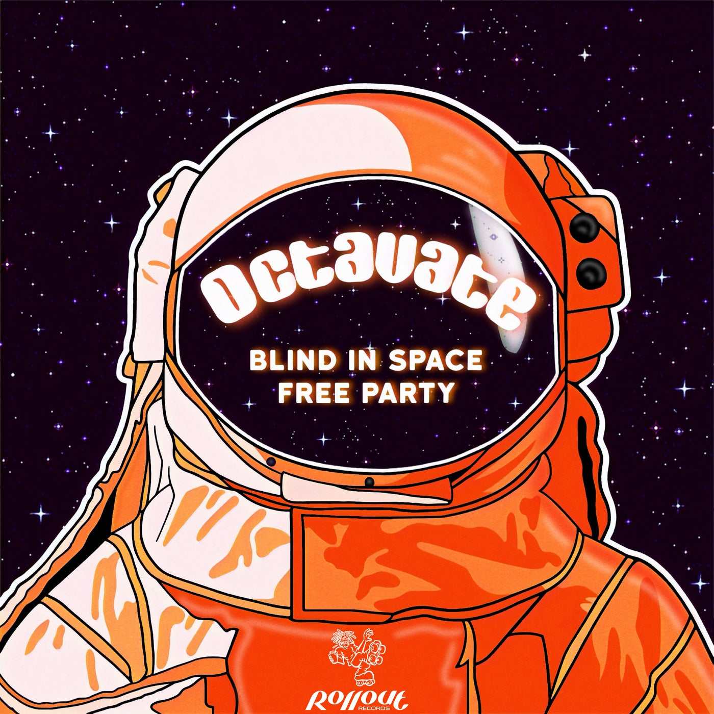 Octavate - Blind in Space / Free Party (2021)