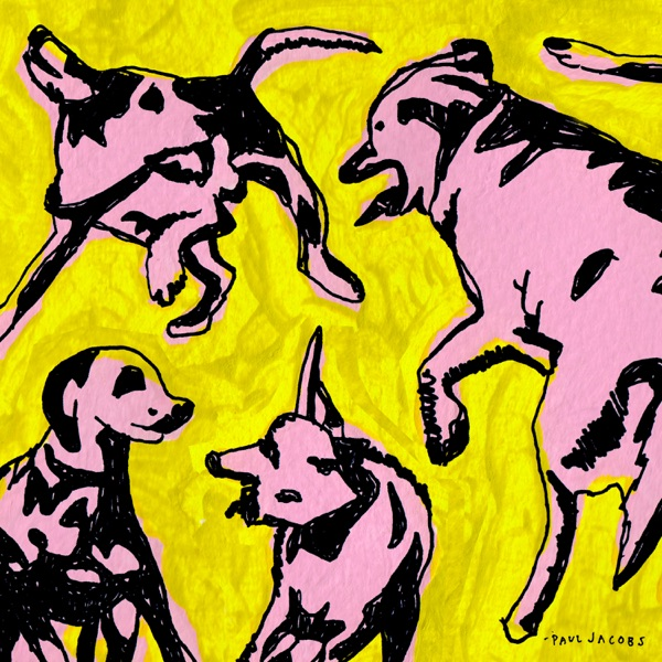 Paul Jacobs - Pink Dogs on the Green Grass (2021)
