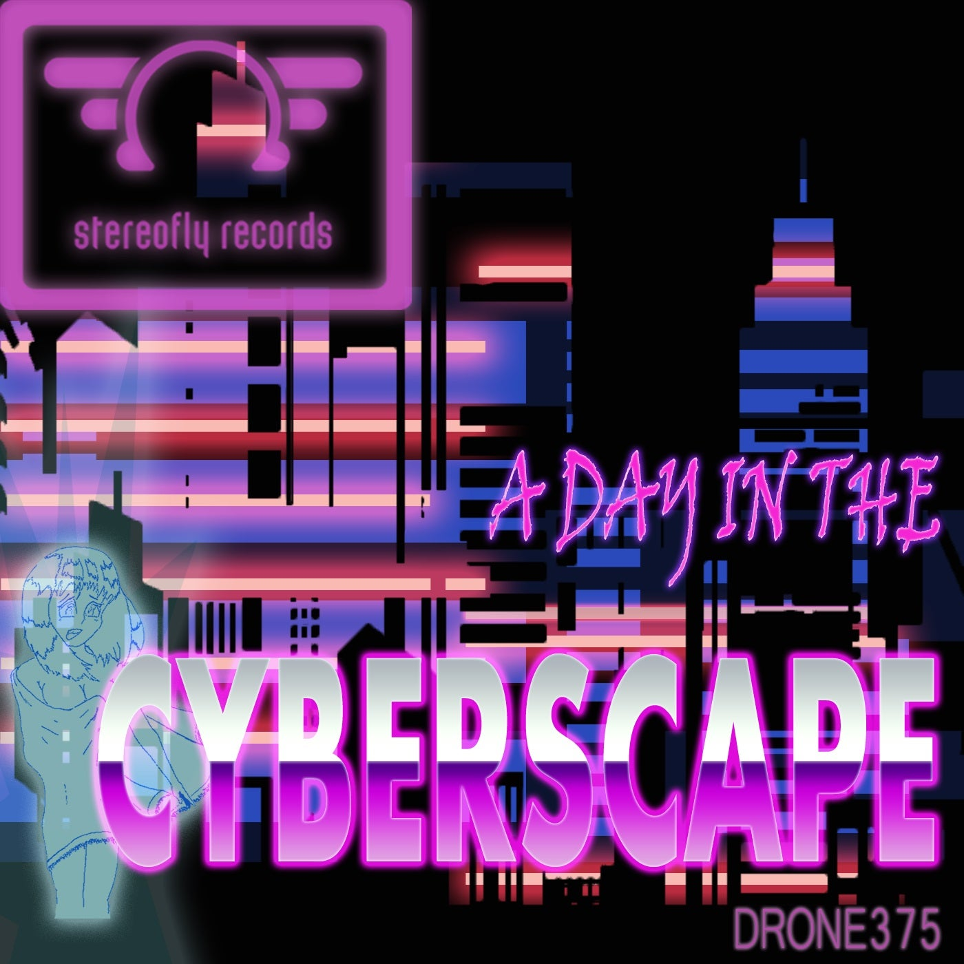 Drone375 - A Day in the Cyberscape (2021)