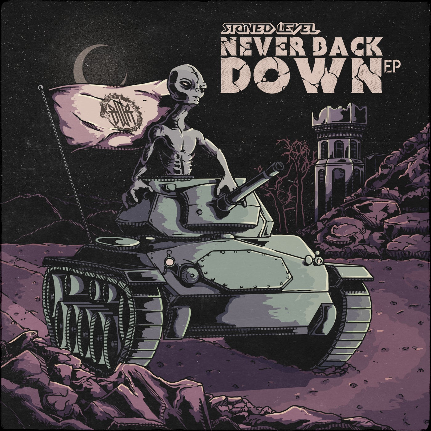 Stoned Level - Never Back Down (2021)