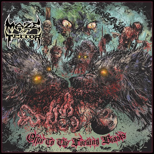Maze Of Terror - Offer To The Fucking Beasts (2021)
