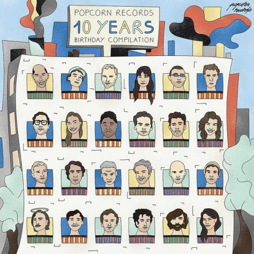 Various Performers - Popcorn Records 10 Years Birthday Compilation (2021)