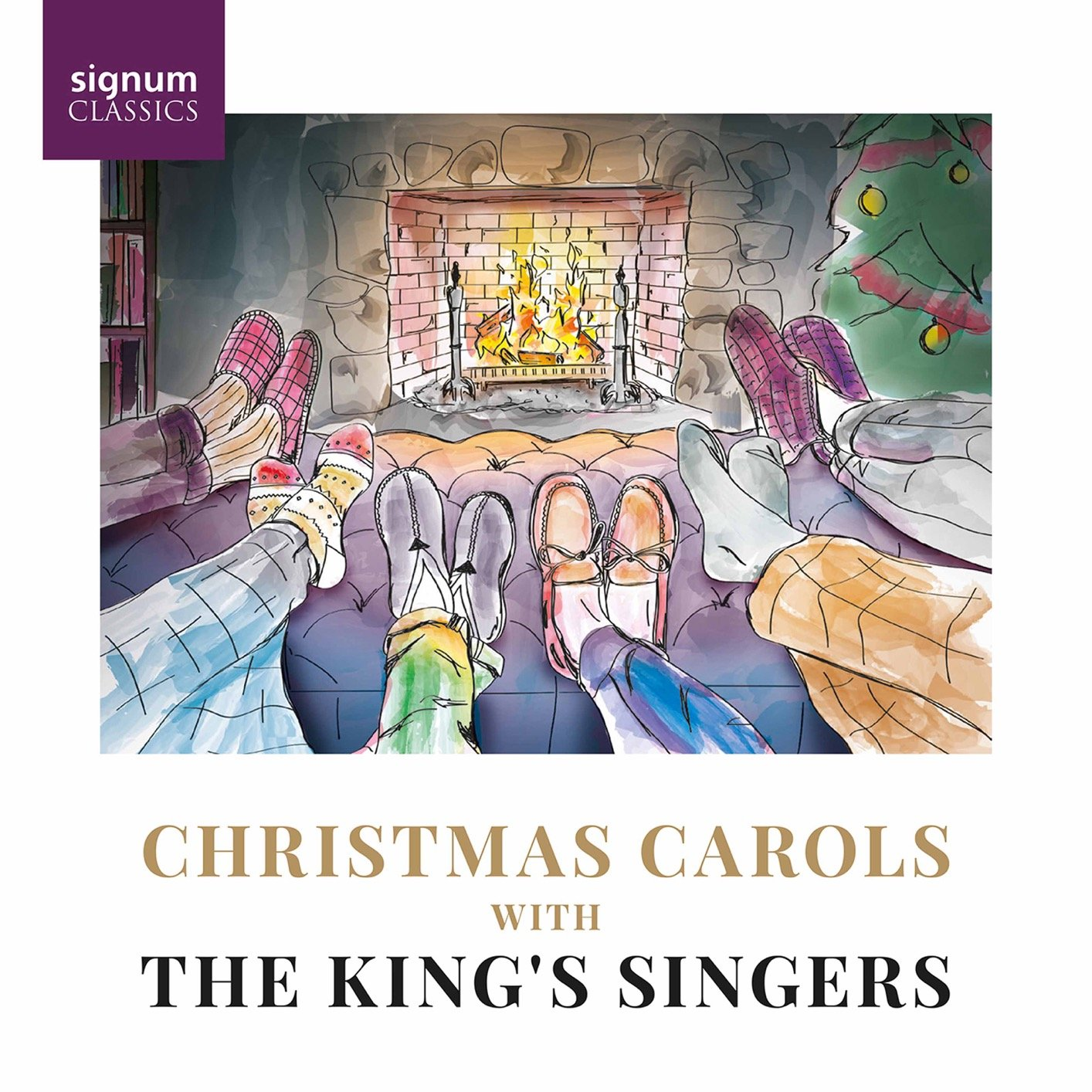 The King's Singers - Christmas Carols with The King's Singers (2021)