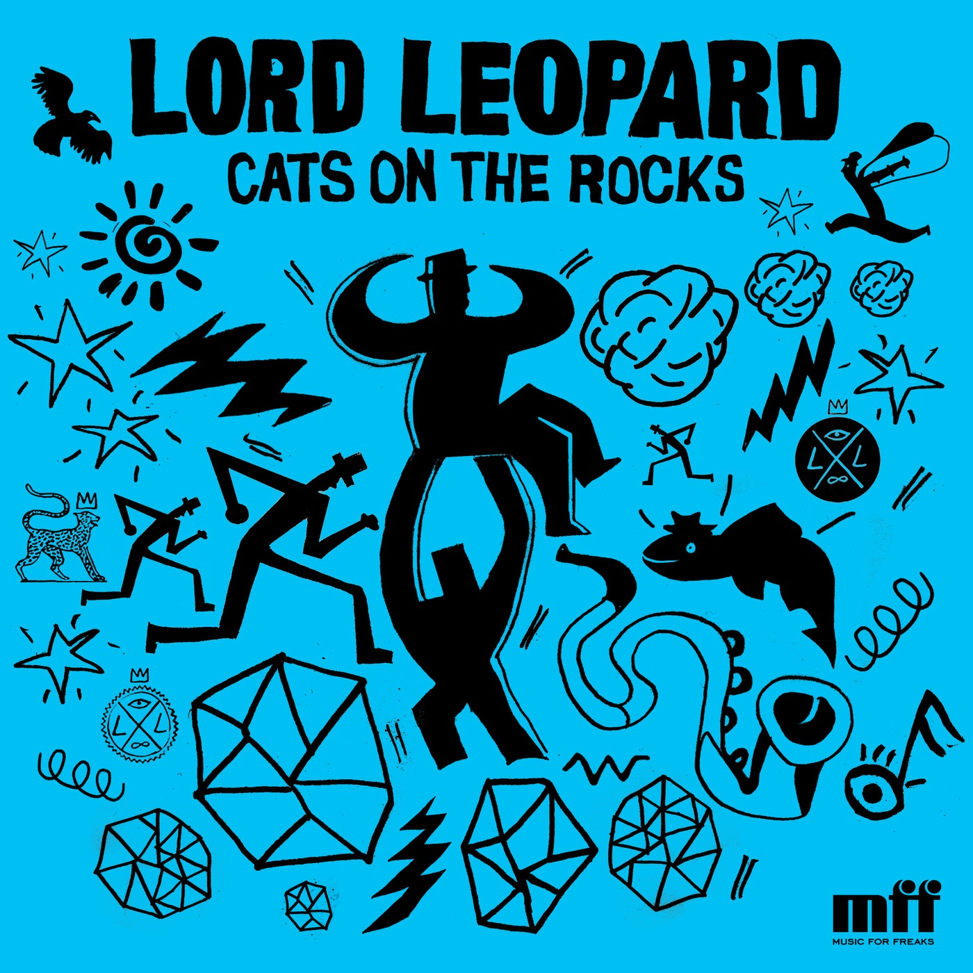 Lord Leopard - Cats on the Rocks (2021)