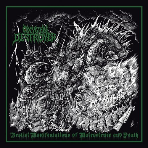 Oxygen Destroyer - Sinister Monstrosities Spawned By The Unfathomable Ignorance Of Humankind (2021)