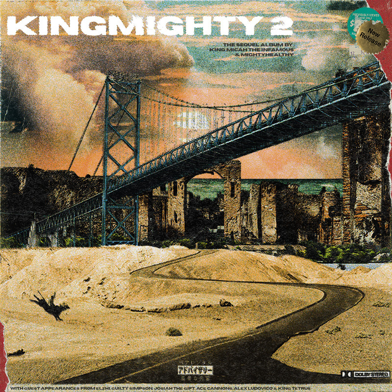 King Micah the Infamous x MIGHTYHEALTHY - KINGMIGHTY 2 (2021)