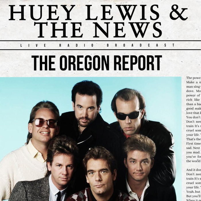 Huey Lewis & The News - The Oregon Report (2021)