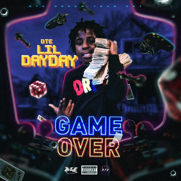 DTE Lil DayDay - GameOver (2021)