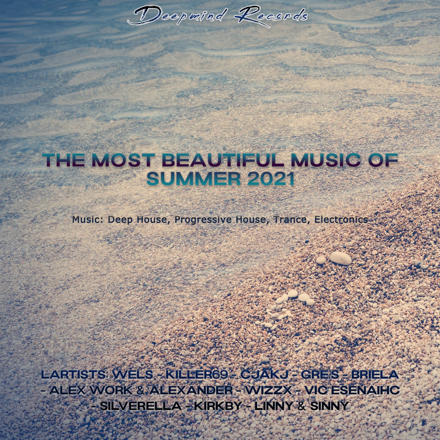 Various Performers - The Most Beautiful Music of Summer 2021 (2021)
