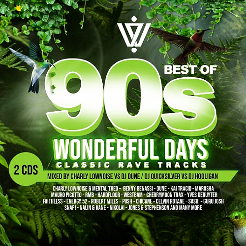 Various Performers - Wonderful Days: Best Of 90s Classic Rave Tracks (2021)