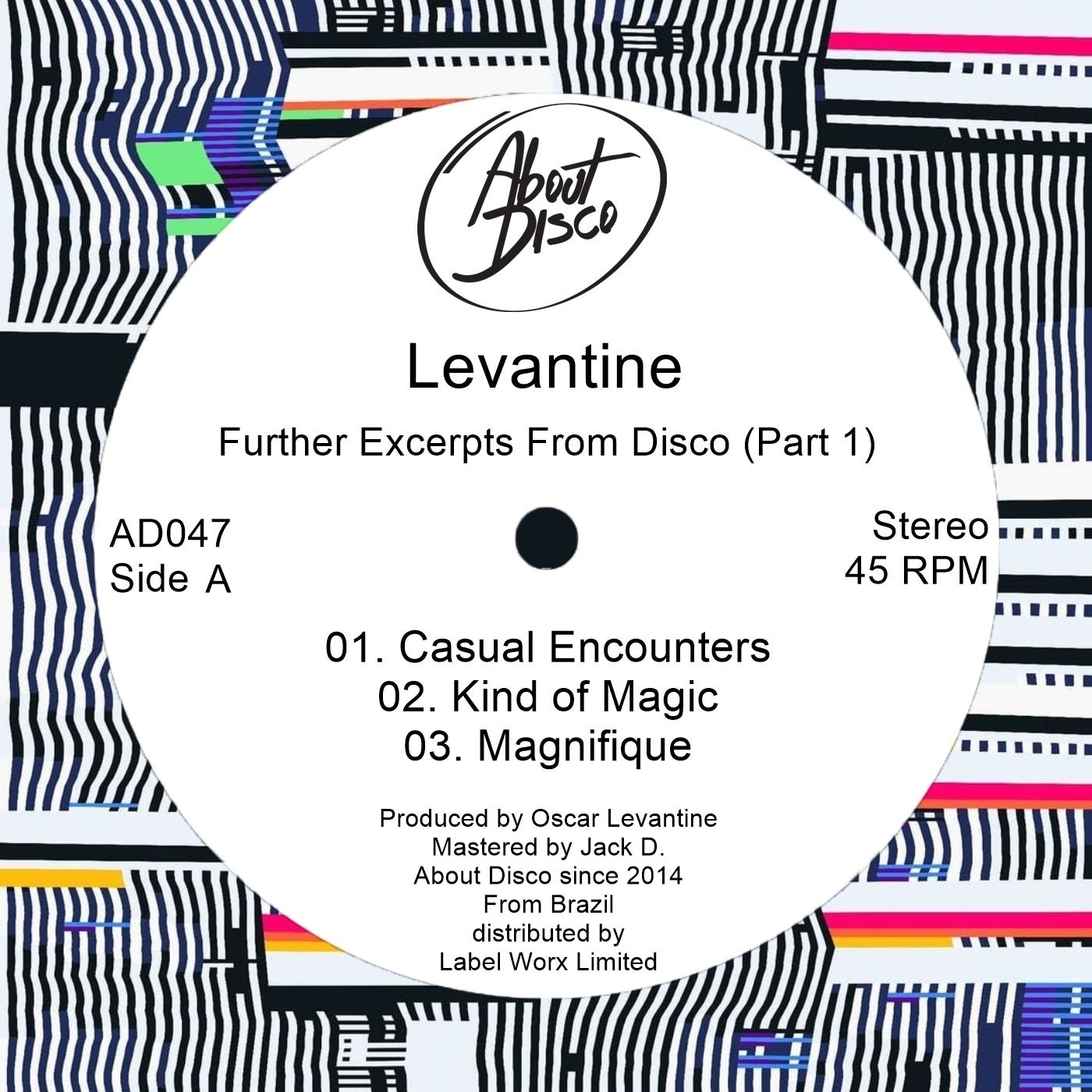 Levantine - Further Excerpts from Disco, Pt. 1 (2021)