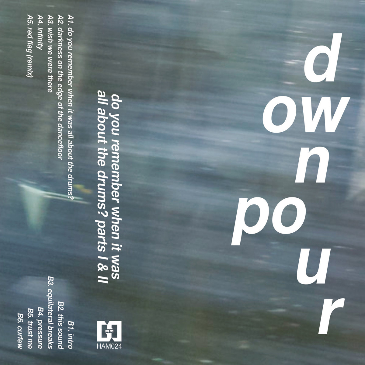 Downpour - Do You Remember When It Was All About The Drums Parts I & II (2021)