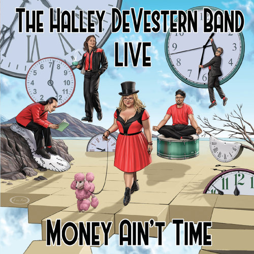 The Halley Devestern Band - Live: Money Ain't Time (2021)