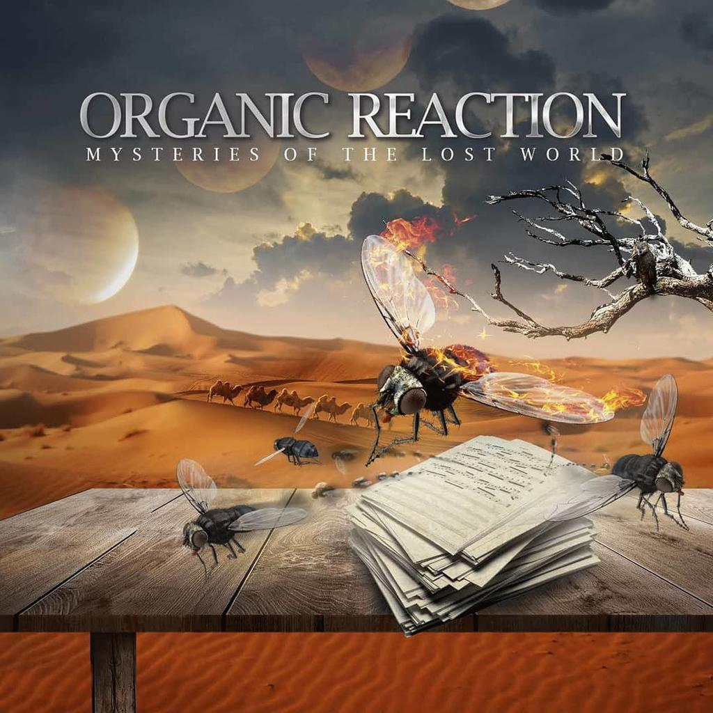 Organic Reation - Mysteries Of The Lost World (2021)