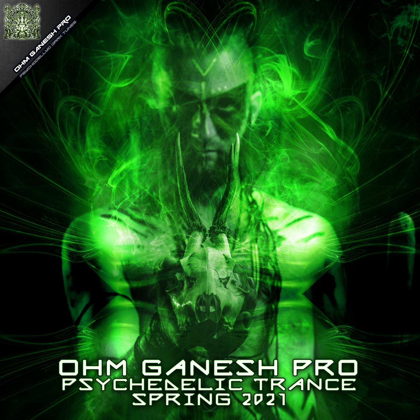 Various Performers - Ohm Ganesh Pro Psychedelic Trance Spring 2021 (2021)