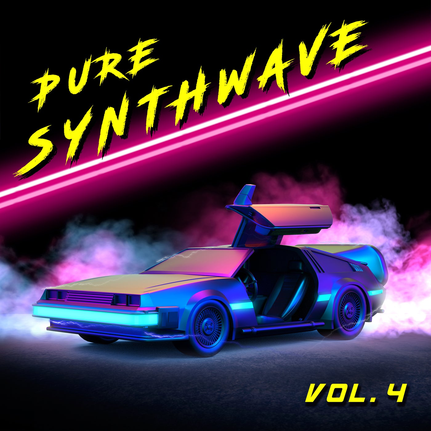 Various Performers - Pure Synthwave, Vol. 4 (2021)