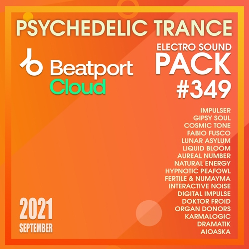 Various Artist - Beatport Psychedelic Trance:Sound Pack #349 (2021)