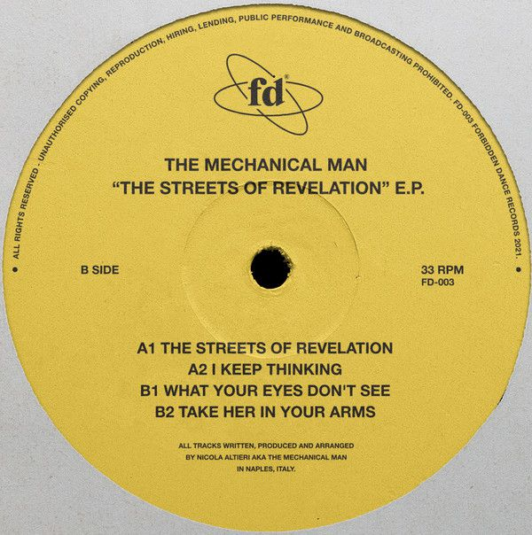 The Mechanical Man - The Streets Of Revelation (2021)