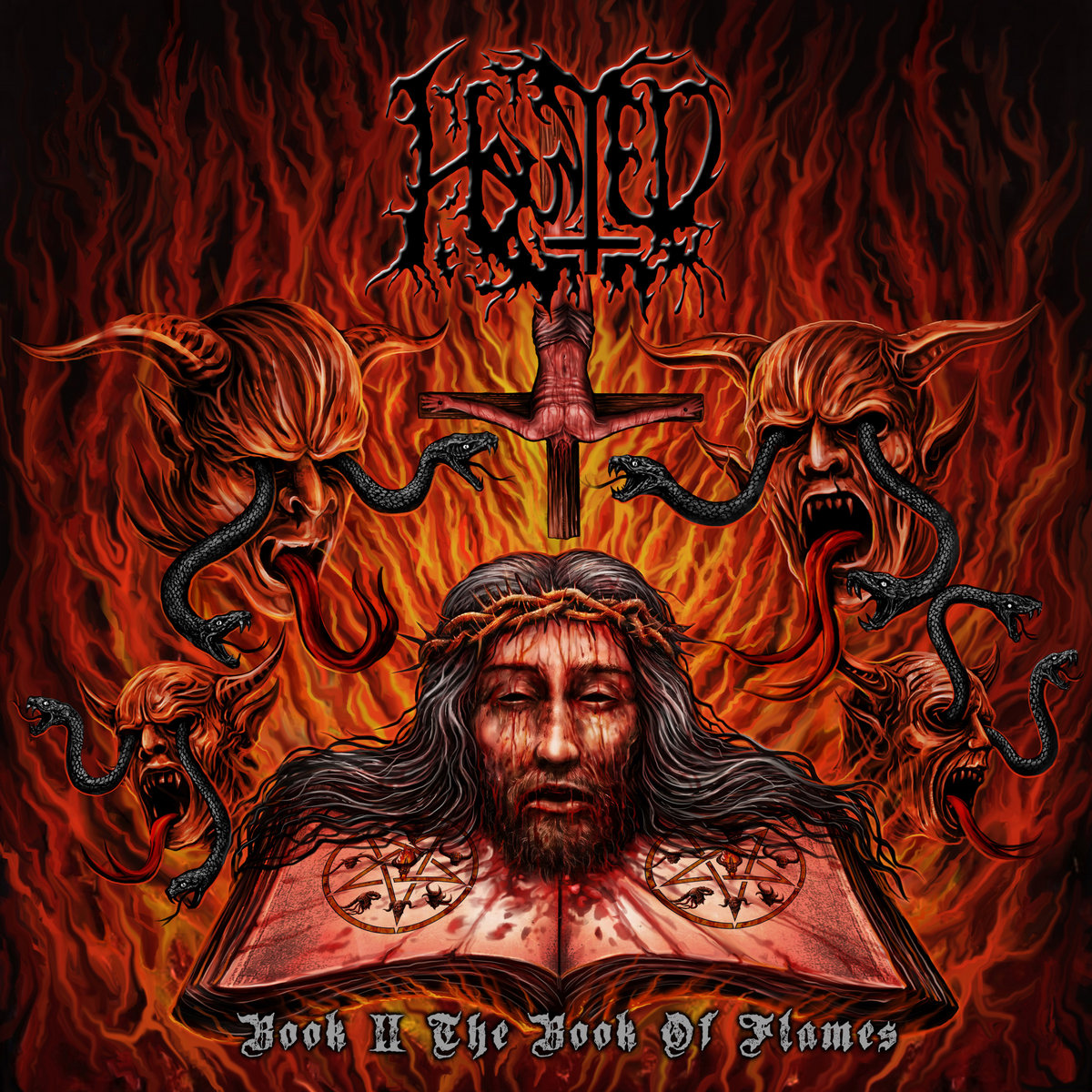 Haunted - The Book of Flames (2021)