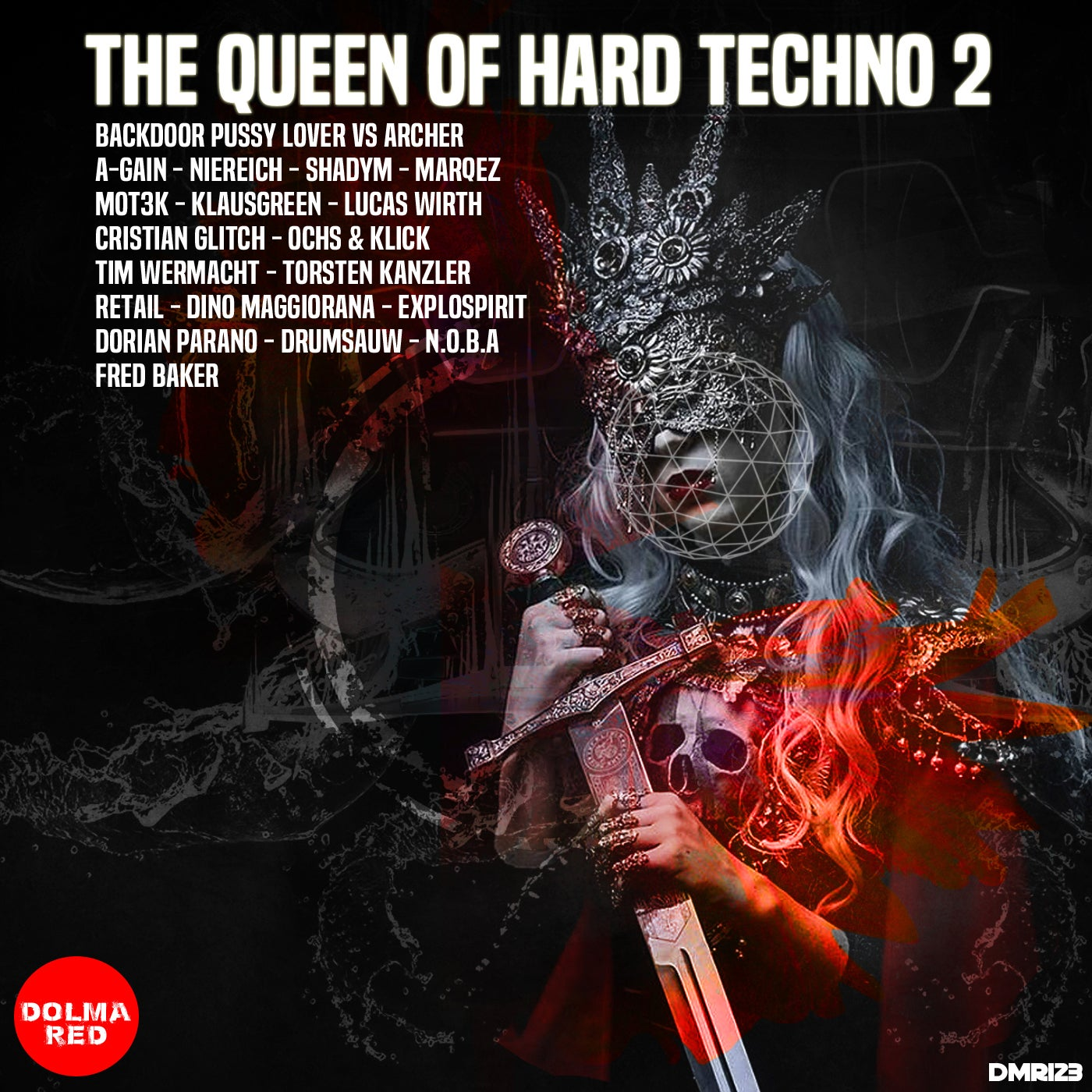 Various Performers - The Queen Hard Techno 2 (2021)